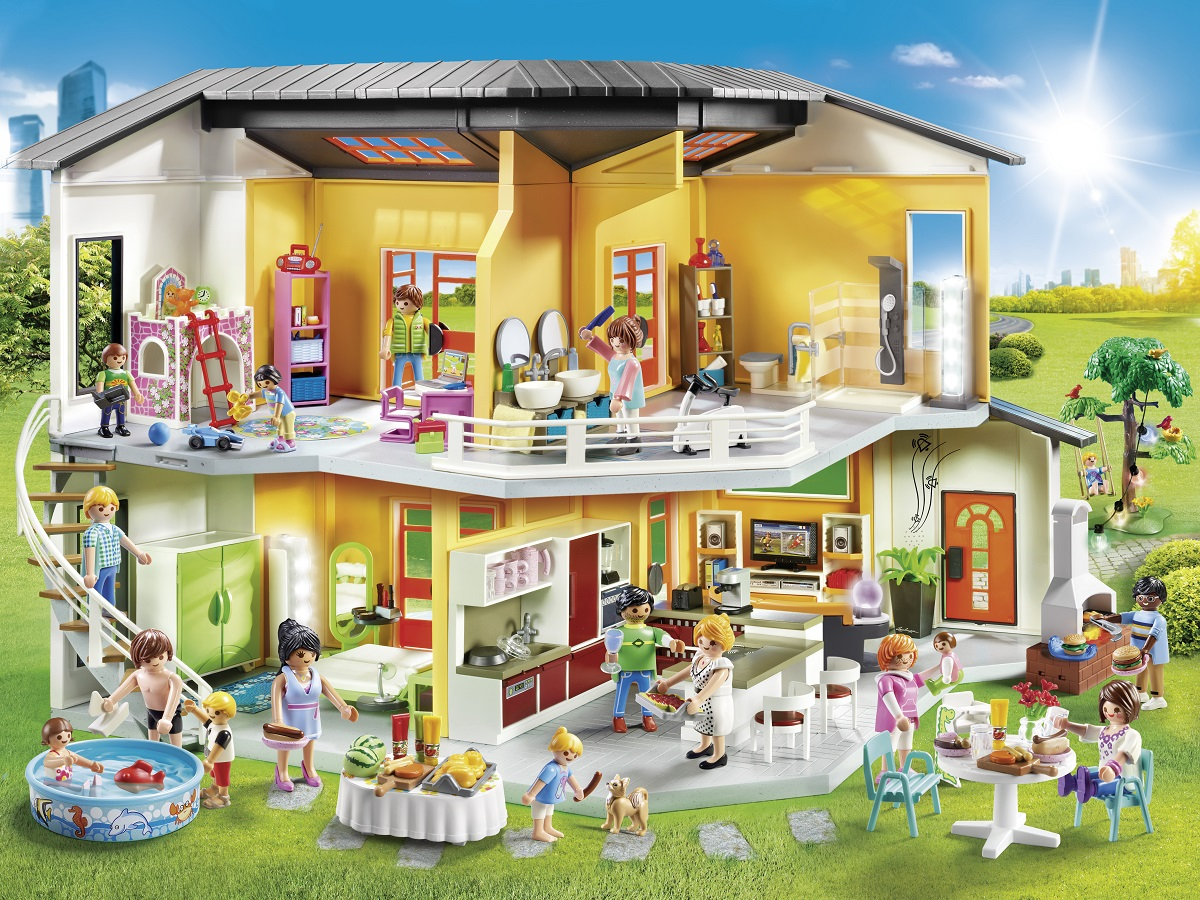 Playmobil spielwelt wohnhaus kinderspielmagazin for Mobiles wohnhaus