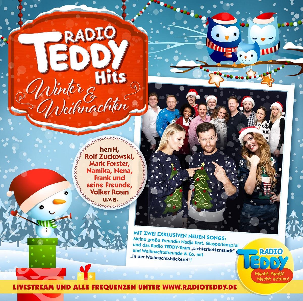 Cover RADIO TEDDY HITS Winter und Weihnachten - Kinderspielmagazin ...