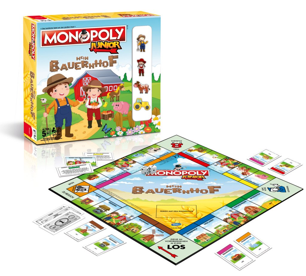 monopolyjr meinbauernhof packshot 3d gameboard 1024x921 kinderspielmagazin. Black Bedroom Furniture Sets. Home Design Ideas